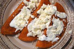 Receta de Enchiladas Rellenas comida mexicana