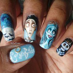 halloween  by riddhisn #nail #nails #nailart