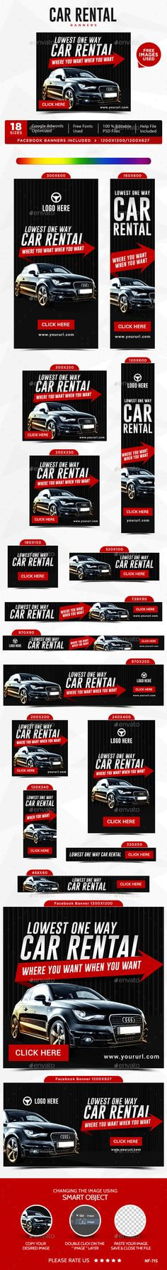 Car Technology Banners Banners, Ads and Cars - car ad template