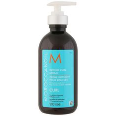 Moroccanoil Intense Curl Cream (300ml) ($30) ❤ liked on Polyvore featuring beauty products, haircare, styling products, hair products, beauty, hair, curly hair styling products, curly hair care, leave in conditioner and curly hair leave in conditioner