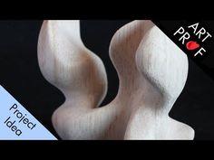 RISD Adjunct Professor Clara Lieu and Teaching Artist Annelise Yee demonstrate how to carve an organic balsa wood sculpture using a utility knife and sandpap. Wood Carving Art, Wood Art, Teaching Tools, Teaching Art, Wood Sculpture, Sculptures, Sculpture Lessons, Art Lesson Plans, Art Techniques