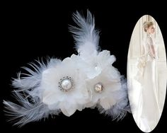 Hey, I found this really awesome Etsy listing at https://www.etsy.com/au/listing/218281734/wedding-bridal-flower-feathers-shoe