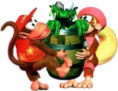 Diddy and Dixie Kong Metroid, Super Nintendo, K Rool, Donkey Kong Country Returns, Marvel Cartoon Movies, Secret Of Mana, Diddy Kong, Pokemon, Super Mario Art