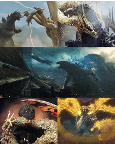"""@unite_godzilla_fans__ on Instagram: """"""""A rival Alpha to Godzilla"""". Godzilla vs King Ghidorah over the decades. Which one is your favorite?! #godzilla #godzillakingofthemonsters…"""" Godzilla Vs King Ghidorah, Godzilla Godzilla, Godzilla Comics, Godzilla Birthday, Skull Island, Japanese Film, Classic Monsters, King Kong, How Train Your Dragon"""