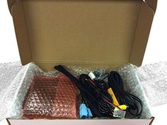 PLUGandGO Factory Integrated Backup Camera Kit Chevrolet Camaro with MyLink 2013 and Newer