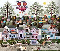 Confection Street by Charles Wysocki