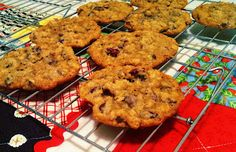 Cranberry Oatmeal Choc Chip Cookies....amazing!