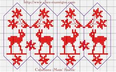 Xmas Cross Stitch, Cross Stitch Charts, Cross Stitch Patterns, Knit Christmas Ornaments, Christmas Cross, Christmas Knitting Patterns, Christmas Embroidery, Plastic Canvas Ornaments, Fabric Hearts