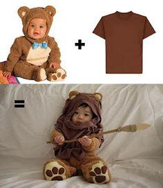 CUTE little ewok costume, simple parts.
