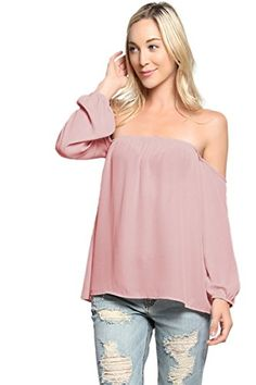 TheMogan Women's Bohemian Off The Shoulder Chiffon Blouse... https://www.amazon.com/dp/B01FYJZMZY/ref=cm_sw_r_pi_dp_xa2yxbP9KBE13