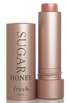 The 12 Best Nude Lipsticks - Fresh Sugar Honey Tinted Lip Treatment SPF 15