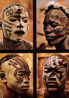 People of Kau by Leni Riefenstahl