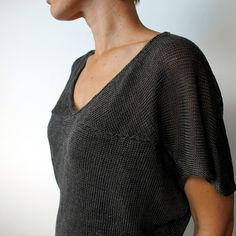 KAGE PULLOVER PATTERN this one too. Kirsten Johnstone is my new favorite designer!