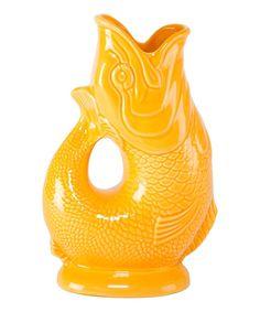 Look at this Mandarin Fish Gluggle Jug on #zulily today!