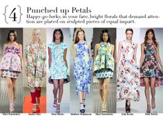 London Spring 2014 Top Trends - PUNCHED UP PRTALS