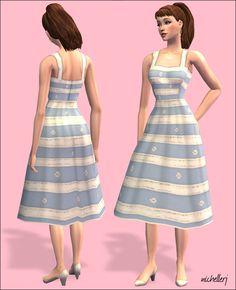 Mod The Sims - Vintage Barbie Collection: Suburban Shopper