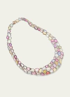 Necklaces @ Tamsen Z Multi-Color Sapphire Necklace