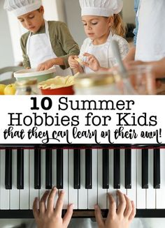 What if you gave your kids permission for screen time- as long as it was helping them to learn a new skill? Here are 10 summer hobbies for kids- that they can learn on their own via an online class!  #SummerHobbies #FunThingsToDo #DIYSummerCamp #KidsHobbies Hobbies For Couples, Hobbies To Try, Hobbies For Women, Hobbies That Make Money, Hobbies And Interests, Great Hobbies, Manly Hobbies, Popular Hobbies, Learn A New Skill