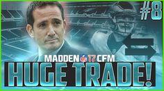 Madden NFL 17 Franchise | Gameplay Tips | Eagles vs Cowboys | HUGE TRADE...