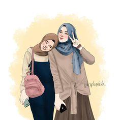 ✔ Drawing Of Girls Cute Friends Best Friend Drawings, Girly Drawings, Cute Love Cartoons, Cute Cartoon Girl, Art Anime Fille, Anime Art Girl, Cartoon Kunst, Cartoon Art, Illustration Amis