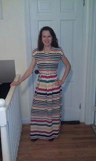 Easy DIY Knit Maxi Dress Tutorial