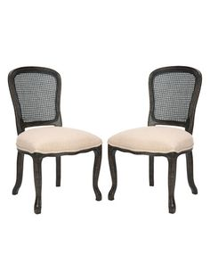 Laila Side Chairs (Set of 2) by Safavieh at Gilt