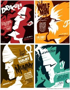 Movies Posters by Saul Bass (May 8, 1920 – April 25, 1996)