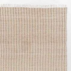 Bleached Stripe Seagrass Jute Rug  6'x9'  $149.99