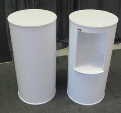 Round Sales Table - Displays 2 Go