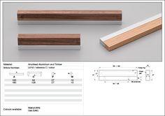 Timber handle Wood handle