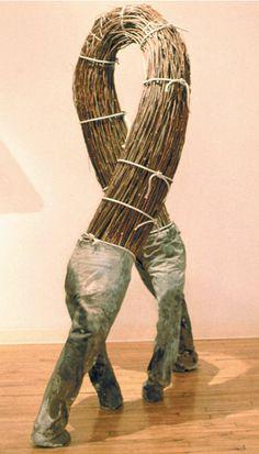 The Human Lamp Project: Mixed Media Sculpture