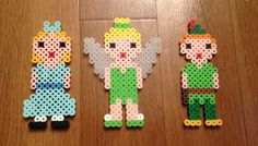 Peter Pan Perler Beads Set Christmas ornament on Etsy, $10.50 SAVE 10% on purchases over $10. Coupon expires 12-31-13. www.etsy.com/shop/songbirdbeauty