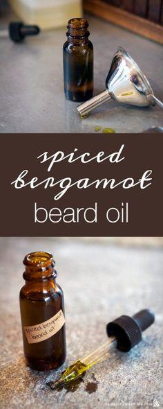 Spiced Bergamot Beard Oil