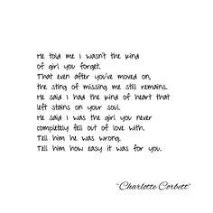 """141 Likes, 11 Comments - Charlotte Corbett (@charlotte.corbett) on Instagram: """"Tell him #repost #writersofinstagram #poetsofinstagram #poetry #poetsofig #writersofig #writer…"""""""