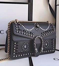 gucci stud leather dionysus crossbody