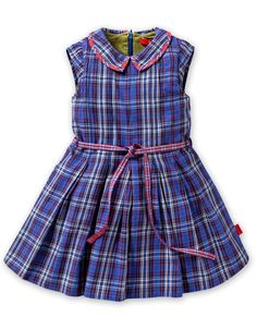 Oilily F 13 check dress