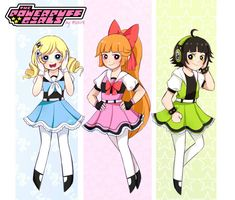 Girl Cartoon, Cartoon Art, Kasumi Cosplay, Powerpuff Girls D, Super Nana, Ppg And Rrb, Cute Anime Pics, Power Girl, Cute Cartoon Wallpapers