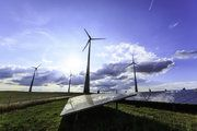 Electricity from renewable energy rose by 11% in 2016.