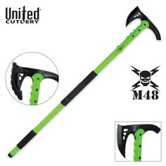 M48 Apocalypse Undead Survival Tactical Walking Axe | BUDK.com - Knives & Swords At The Lowest Prices!