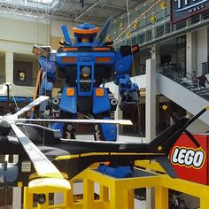 #Lego store at Mall of America. I was like a kid again.