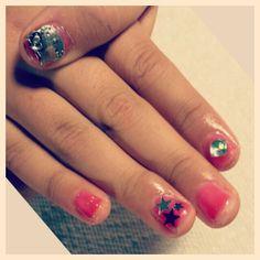 Gel polish + nail design