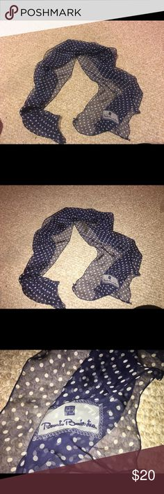 Renato balestra Navy and white Accessories Scarves & Wraps