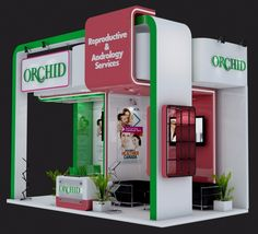 ORCHID Exhibition Stand Design on Behance