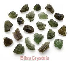 Moldavite Mini Raw Crystal 1.8gm