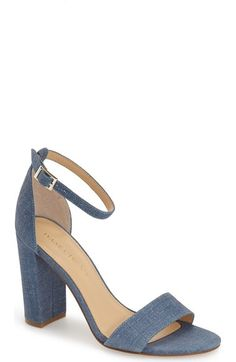 Ivanka Trump 'Klover' Block Heel Ankle Strap Sandal (Women) available at…