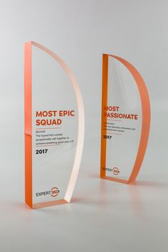 Expert 360 Recognition Trophies | Design Awards