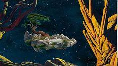 Animation Paysage 3D - Roger Dean