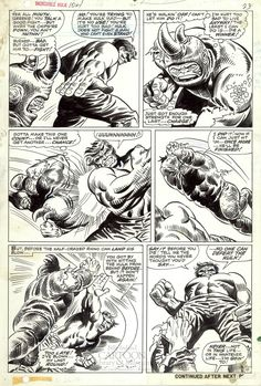 Found in the Collection: Marie Severin's Incredible Hulk | Billy Ireland Cartoon Library & Museum Blog