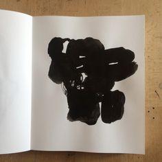 Encre de Chine sur papier / Livre d'artiste Olivier Umecker