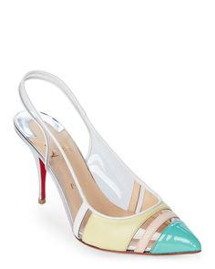 Christian Louboutin Highway Pointed Toe Slingback Pumps